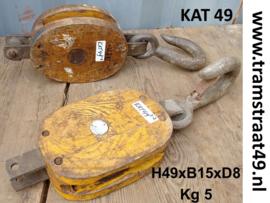 Oude scheepskatrol geel