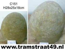 Riviersteen urn C151