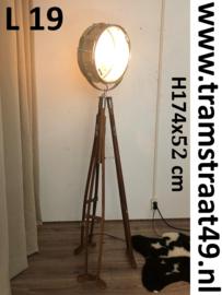 Snaardrum vloerlamp - muziekinstrument lamp