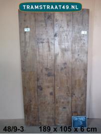 Tafelblad van oude deur 48/9-3