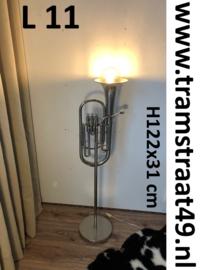 Bariton tuba vloerlamp - muziekinstrument lamp