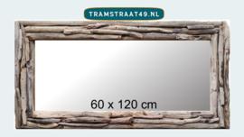 Spiegel lang driftwood 60 x 120 cm