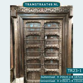 Oude deur India TR23-1