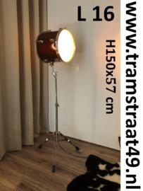 Tom tom drum vloerlamp - muziekinstrument lamp
