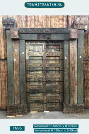 Oude poort / deur