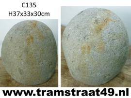 Urn riviersteen C135