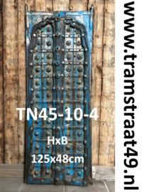 Blauwe kastdeur TN45-10-4
