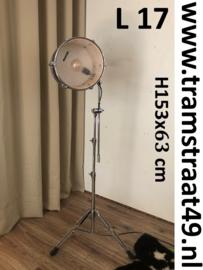 Tom-tom drum lamp - muziekinstrument vloerlamp