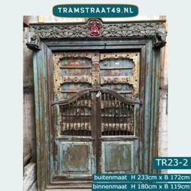 Oude deur India TR23-2