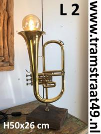 Bügel tafellamp - muziekinstrument lamp