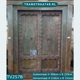 Oude antieke deur TV257B