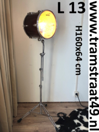 Drumstel vloerlamp - muziekinstrument lamp