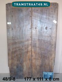 Oude deur als tafelblad 48/9-8