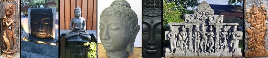 boeddha beelden voor wellness of spa