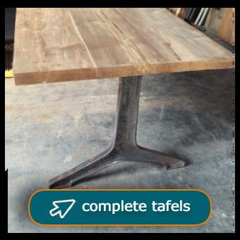 complete tafels met tafelblad en tafelpoot