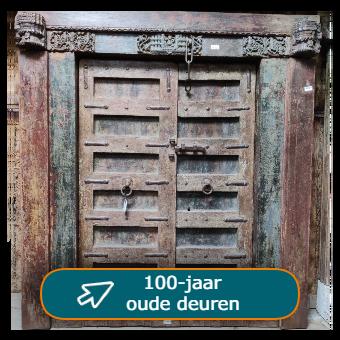 Grote Indiase poorten - oude deuren