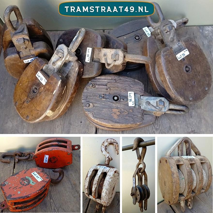 Oude scheepskatrollen collectie
