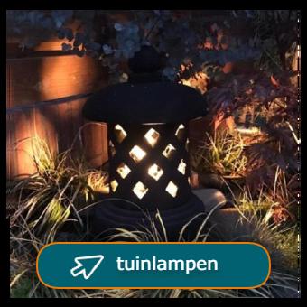 tuinlampen en tuinverlichting van steen