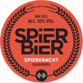 SpierBier SPIERKRACHT - Quadrupel