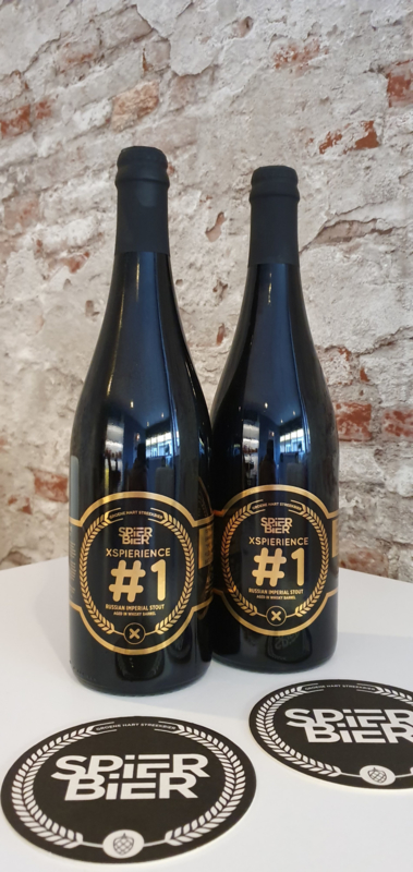 XSPIERIENCE #1 AB- COMBI - 2x 75CL Russian Imperial Stout Whisky Barrel Aged