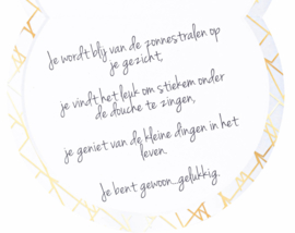Luxe geurkaars: Happy Thoughts Attitude