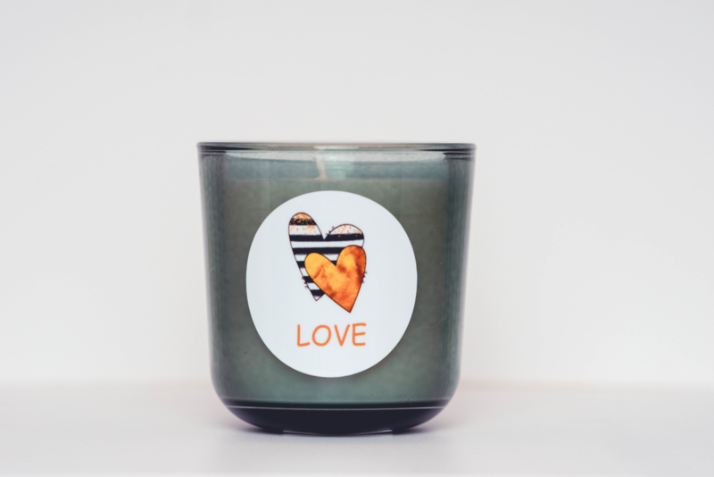 Luxe geurkaars: Love Attitude