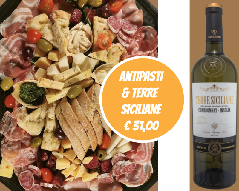 Terre Siciliane + Antipasti Basis