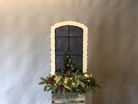 kerst raam