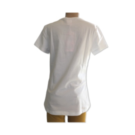 T-shirt met print Couture van Zero Jeans