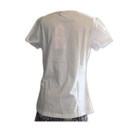 T-shirt met print van Zero Jeans