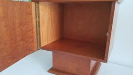 Pair of Vintage 1960's nightstands - Mahogany veneer