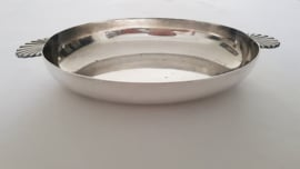 Wiskemann - A silver plated serving dish - 34cm -  Belgium c. 1930's