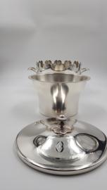 Christofle - Collection Gallia - Verzilverde Ijsemmer - incl. lekbakje en deksel - 1935-1975