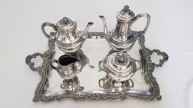 Orfevrerie Gallia (Christofle) - Silver Plated Louix XVI Tea & Coffee service - France, c. 1925