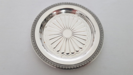 Christofle - Silver Plated Bottle Coaster - Malmaison collection - France, post 1983