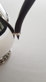 Christofle - Een verzilverd Koffieservies in model Malmaison - 3-delig