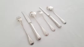 Silver plated cutlery in the Arabesque pattern- 6-pax/40-pieces - Gero Zilvium 100 - the Netherlands, late 1960's