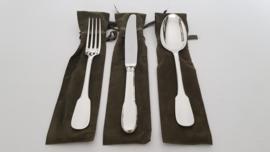 Zilveren dinercouvert - Christofle - Cluny collectie - .925 zilver (1e gehalte)