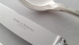 Robbe & Berking - Silver plated Dinner Place Setting (Spoon + Knife + Fork) - Alt Faden