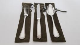 Zilveren dinercouvert - Christofle - Malmaison collectie - .925 zilver (1e gehalte)