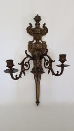 Midden-tot-laat 19e eeuwse Applique in gegoten Brons - Louis XVI