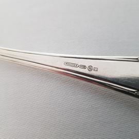 Verzilverde sauslepel - Wellner 90 - klassiek patroon