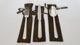 Zilveren dinercouvert - Christofle - Aria collectie - .925 zilver (1e gehalte)