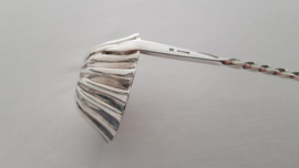 Antieke Punchlepel met getorste steel - Christofle, periode 1860-1914