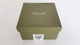 Christofle - Verzilverde kom - Vertigo collectie - ontwerp Andrée Putman