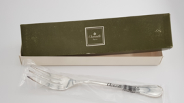 Christofle - Malmaison - Silver plated serving fork -  mint condition/in original packaging