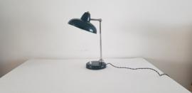 Vintage emaille tafellamp