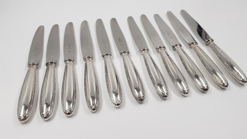 Christofle - Rubans - 10 dessert/breakfast knives