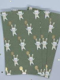 Cadeauzakjes - Baby bunny - 5 stuks