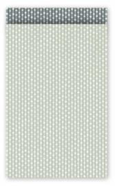 Cadeauzak - Dots grijs/salie - 5 stuks